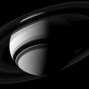 Saturn's Rings and Clouds