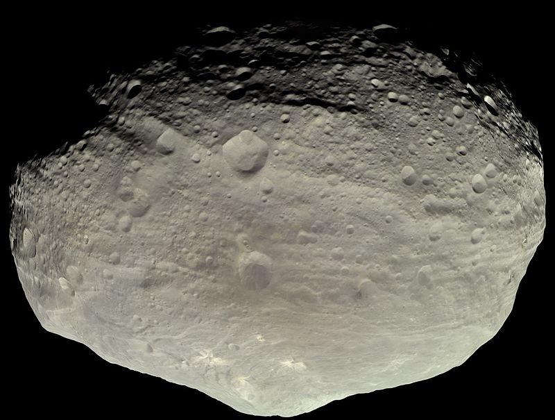 4 Vesta, one of the largest asteroids