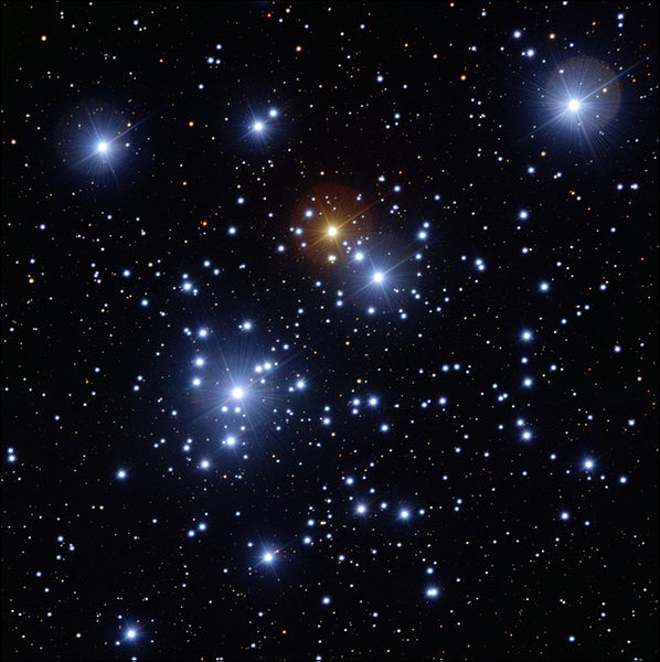 B-class stars in the Jewel Box cluster