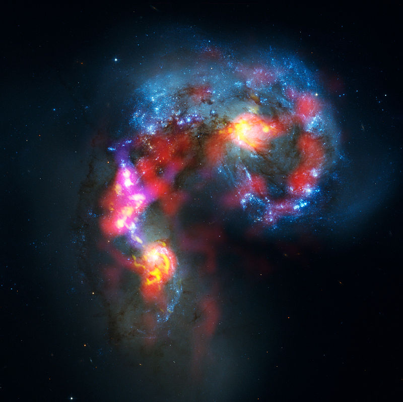 Antennae Galaxies Exploration