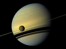 What is Saturn made of?
