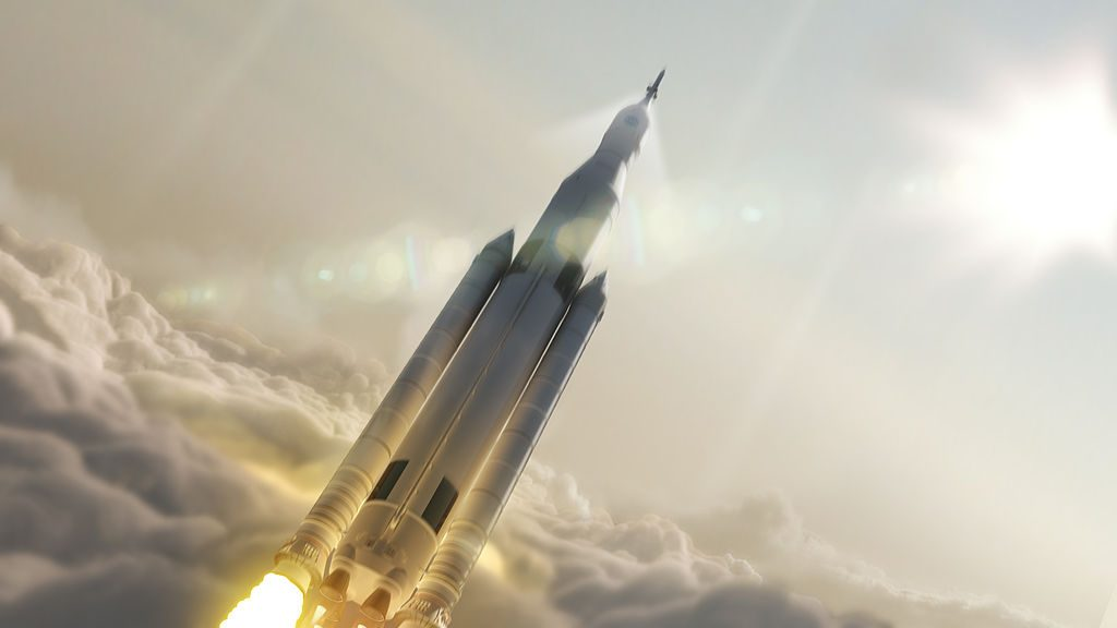 SpaceLaunchSystem AfterLaunch