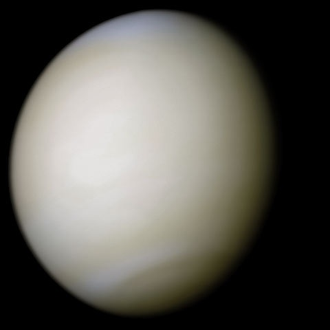 Venus in real colour