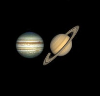 What is the closest planet to Saturn?