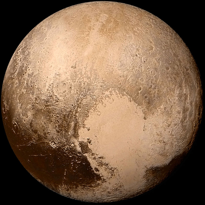 pluto in true Interesting